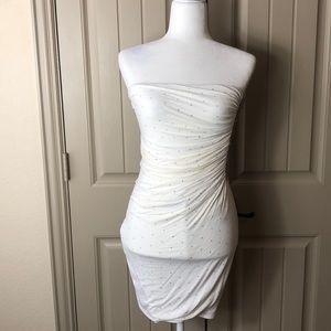 NWT Sky Strapless Mini Dress